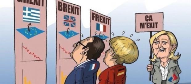 Frexit, sondaggi segreti: Le Pen al 34%