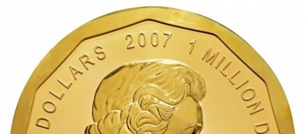 Goldmünze Maple Leaf aus 100 kg Feingold - gestohlen im Bode-Museum