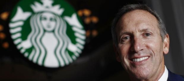 Howard Schultz, CEO di Starbucks.