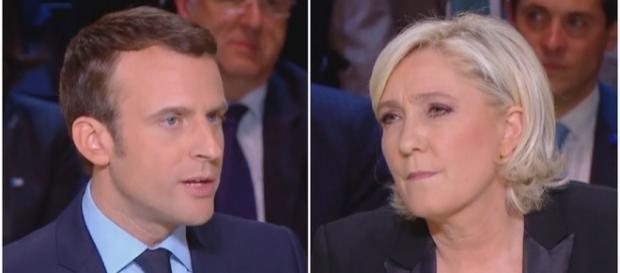 Marine Le Pen en tête devant Macron