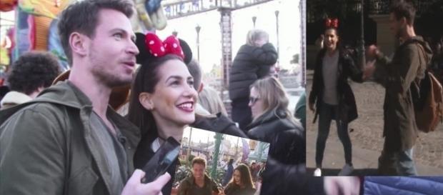 Sebastian und Clea-Lacy zu Besuch in Disneyland / Fotos: RTL