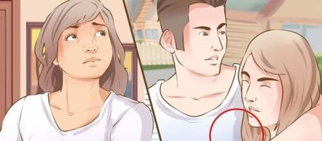 Algumas mulheres tem atitudes que deixam claro uma possível traição