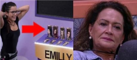 Detalhe em tintas de cabelo causam suspeita em Ieda sobre a vitória de Emilly