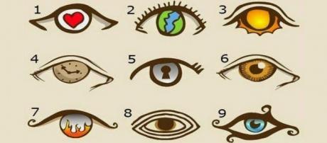 Saiba mais sobre você mesmo após a escolha de um desses olhos. (Reprodução: web)