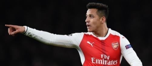 alexis sanchez giocatore dell'Arsenal