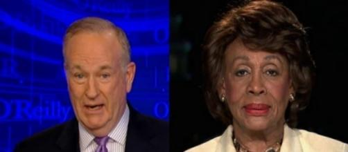 Bill O'Reilly, Maxine Waters, via Twitter