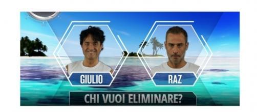 Chi vuoi eliminare su l'Isola dei Famosi?