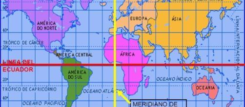 En la zona imaginaria del Meridiano de Greenwich se ecuentra España