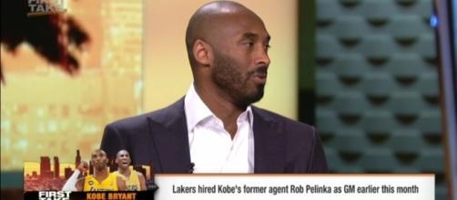 Kobe Bryant, Photo credit: ESPN screenshot