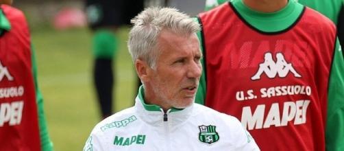 L'allenatore del Sassuolo Paolo Mandelli.
