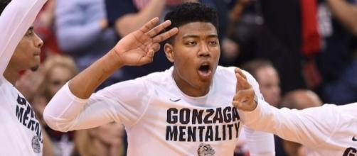 The Gonzaga Bulldogs will play in their first-ever Final Four on Saturday. [Image via Blasting News image library/inquisitr.com]