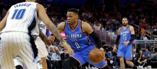 Westbrook scores 57, leads Thunder to 114-106 win in OT | WJLA - wjla.com