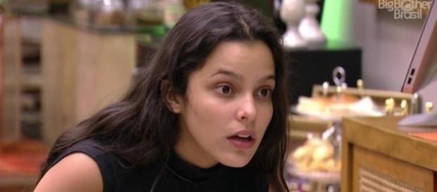 Emilly ganhou apelido que a deixou ainda mais estressada (Foto: Reprodução/TV Globo)