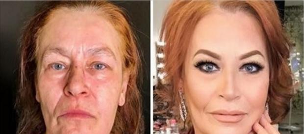 Essa maquiadora russa tem o poder do Photoshop em suas mãos