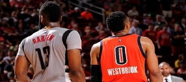 Harden y Westbrook quieren el premio Más valioso