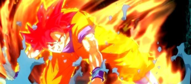 La Sincronización entre el Super Saiyan Dios y Super Saiyan Blue