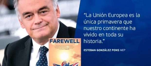 L'allocution d'Esteban Gonzalez Pons devant le parlement de Strasbourg est reprise par de nombreux sites de divers pays européens