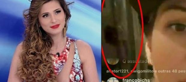Lívia Andrade e o suposto espírito - Google