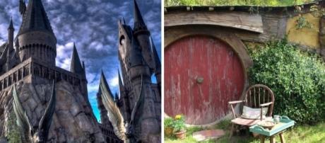 Já pensou passar as férias em Hogwarts? E no Condado? Veja lindos pôsteres turísticos de locais da ficção.