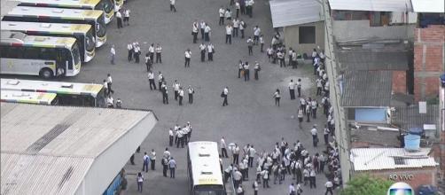 (Foto: Reprodução / TV Globo) Viação São Silvestre.