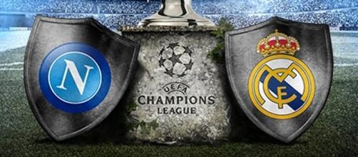 Napoli-Real Madrid di Champions League