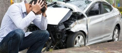 O que fazer após ser envolvido em um acidente.