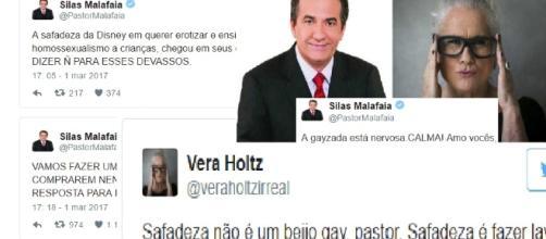 """Silas Malafaia propõe boicote à Disney e Vera Holtz """"mita"""" em resposta"""