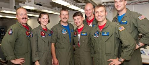 US navy pilots. Photo from BS support