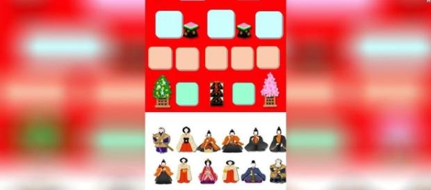 'Hinadan', a traditionally-styled iPhone game app from 81-year-old Masako Wakamiya / Photo from 'CNN' - cnn.com