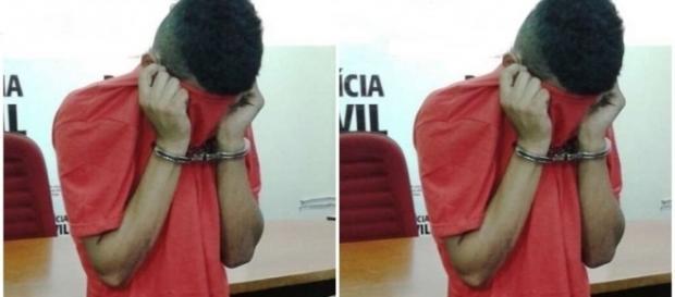 Jovem é preso por ter assassinado sua irmã