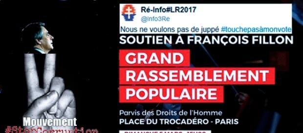Le mouvement Stop corruption manifestera à la République, Sens Commun et les fillonistes au Trocadéro, sauf débordements
