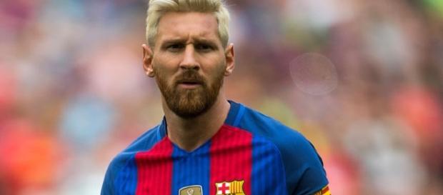 Lionel Messi, attaquant du FC Barcelone