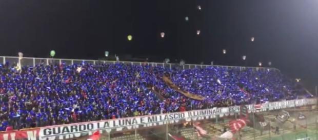 """Lo stadio """"Zaccheria"""" di Foggia."""