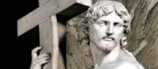 "Michelangelo's ""The Risen Christ"" FAIR USE WQA.HU Creative Commons SOURCE"