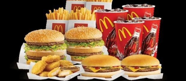 prodotti da fast food a domicilio con un clic