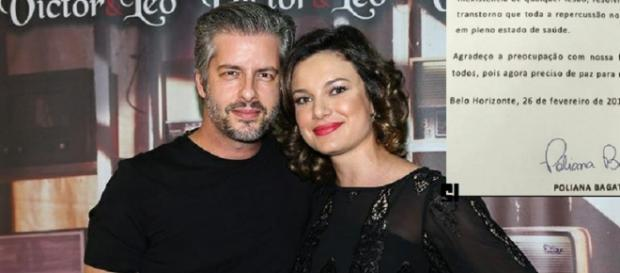 Victor e esposa: laudo de corpo de delito feito em Poliana está pronto.