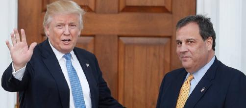 Donald Trump met with Chris Christie to help his administration fight Opioid addiction [Photo credit/LiveNews/Twitter