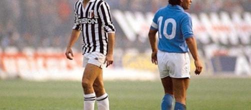 La storica rivalità tra Napoli e Juventus