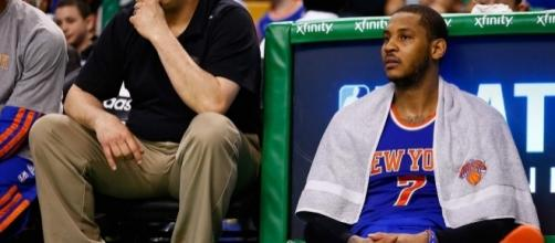 Melo's time with the Knicks might be coming to a close, but he's ok with his reduced role - businessinsider.com