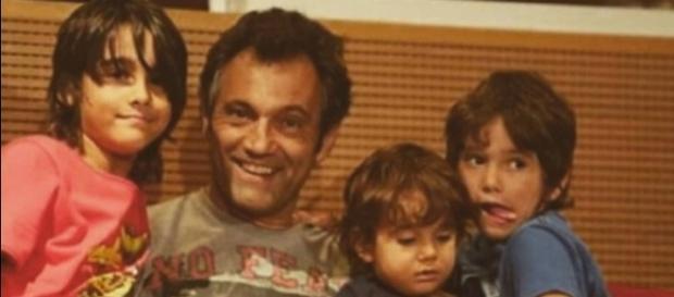 Domingos Montagner tinha três filhos pequenos