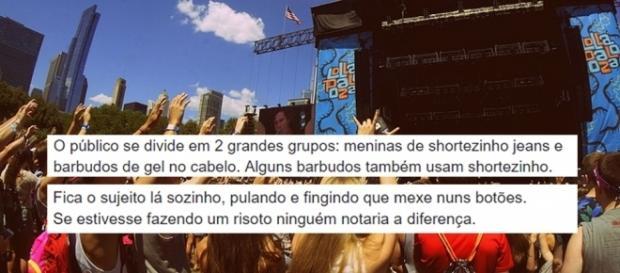 Pai que levou filhas ao Lollapalooza falou sobre sua experiência no festival