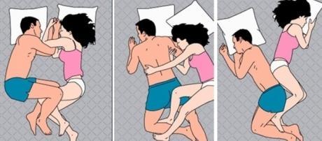 A felicidade de um casal pode ser definida através da posição que eles costumam dormir juntos