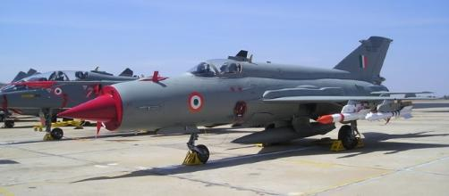 2002 Jalandhar MiG-21 - Wikipedia - wikipedia.org Russian war plane. BN support