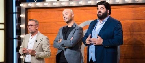 Barbieri, Bastianich e Cannavacciuolo, i 3 giudici di Celebrity Masterchef.