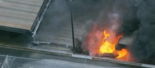 I-85 fire: Section of interstate collapses in Atlanta - CNN.com - cnn.com