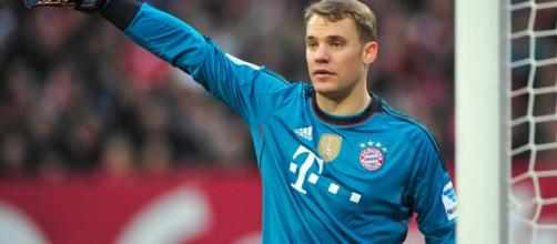 Manuel Neuer, portero alemán del Bayern de Munich