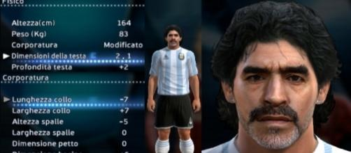 Maradona denuncia la Konami, azienda videoludica giapponese.