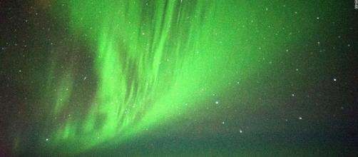 There can be nothing like being at the heart of an Aurora / Photo via Southern Lights put on show for passengers on special flight - CNN.com - cnn.com