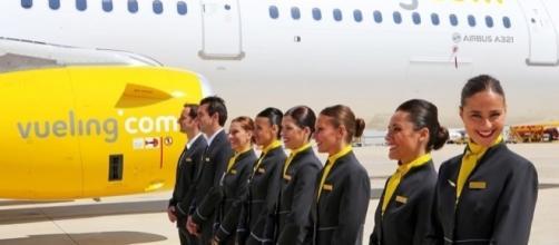 Vueling cerca assistenti di volo: le offerte di lavoro