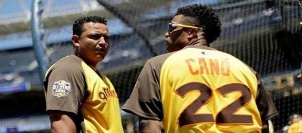 Cabrera y Canó son dos de los mejores bateadores de MLB. Foto: AP